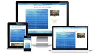 Cape Cod Website Design responsive design screenshot shown on all devices